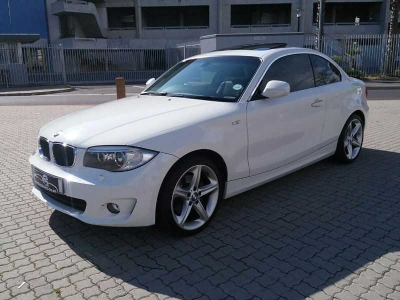 used bmw 1 series 125i coupe a t for sale in western cape. Black Bedroom Furniture Sets. Home Design Ideas