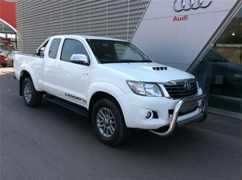 used toyota hilux 3 0d 4d legend 45 xtra cab p u for sale in north west province. Black Bedroom Furniture Sets. Home Design Ideas