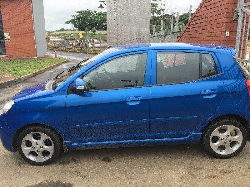 used kia picanto 1 1 ex auto low kms agent maintained for. Black Bedroom Furniture Sets. Home Design Ideas