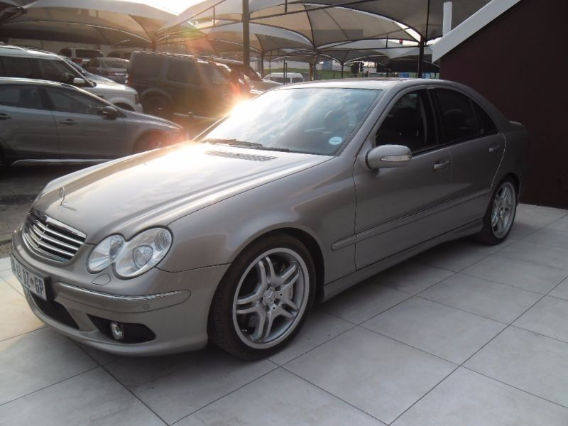 Used mercedes benz c class c55 amg a t for sale in gauteng for 2005 mercedes benz c55 amg for sale