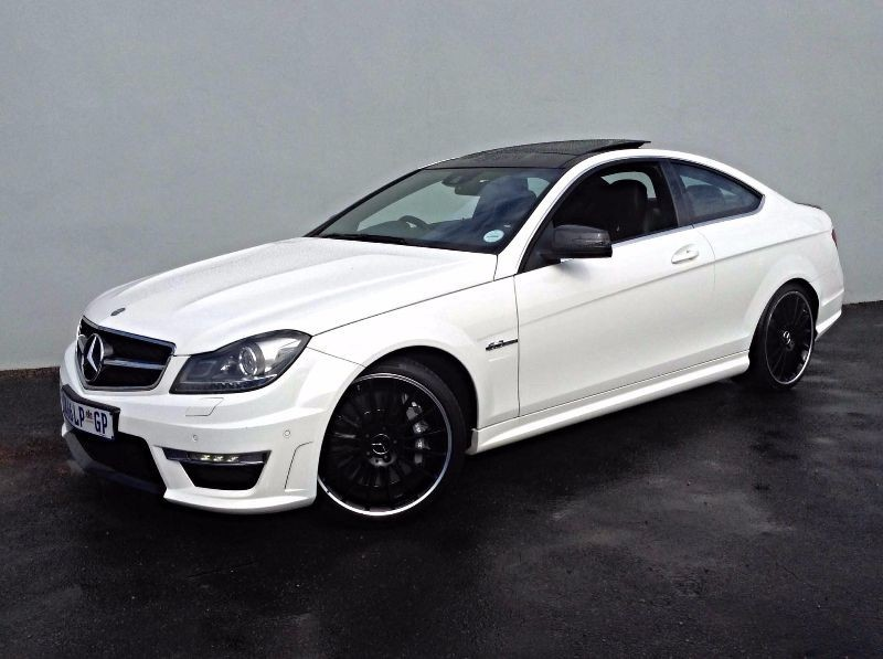 Used mercedes benz c class c63 amg coupe for sale in for 2013 mercedes benz c class c63 amg