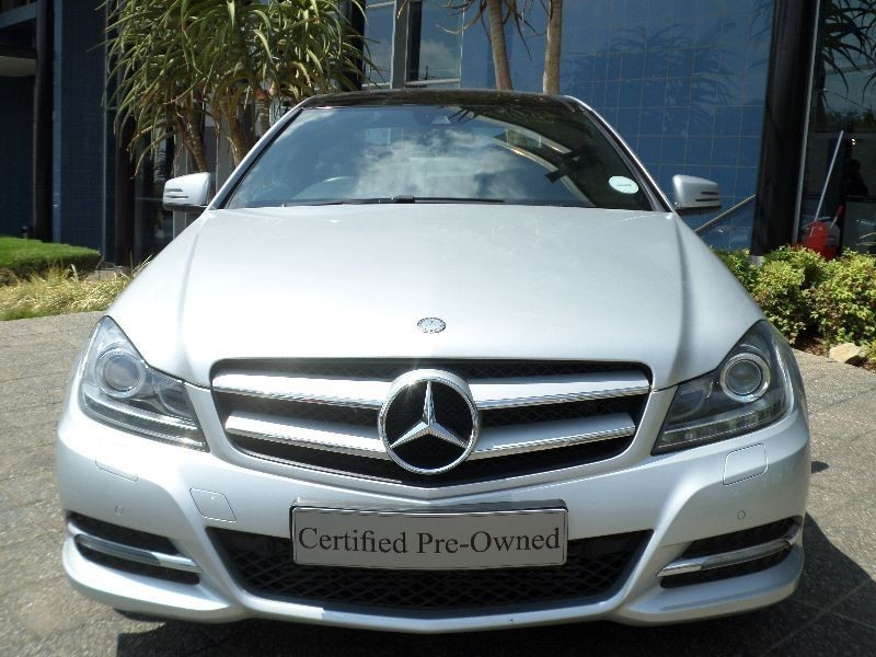 Used mercedes benz c class c250 be coupe a t for sale in for Mercedes benz pretoria