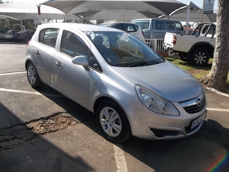 used opel corsa 1 4 enjoy 5dr for sale in gauteng cars. Black Bedroom Furniture Sets. Home Design Ideas