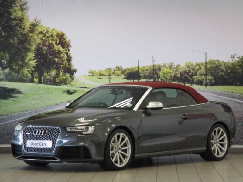 used audi rs5 quattro cab stronic for sale in gauteng id 1633943. Black Bedroom Furniture Sets. Home Design Ideas