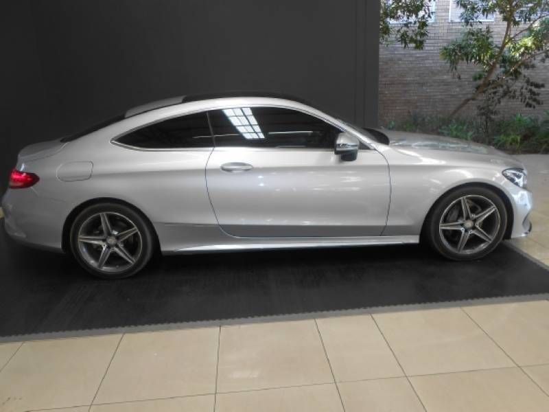 Used Mercedes Benz C Class C220d Amg Coupe Auto For Sale