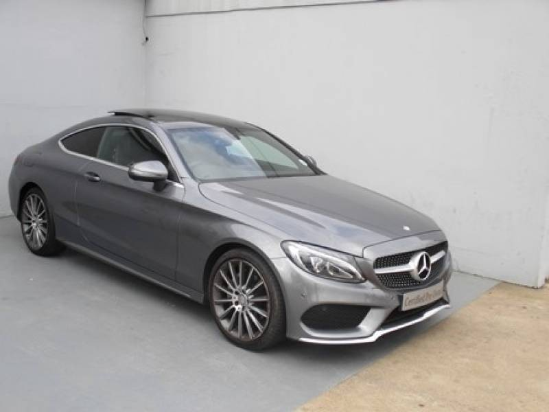 Used mercedes benz c class c200 amg coupe auto for sale in for Mercedes benz c service cost