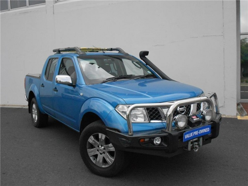 used nissan navara 4 0 v6 4x4 p u d c for sale in western cape id 1639092. Black Bedroom Furniture Sets. Home Design Ideas