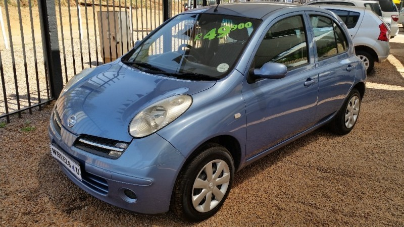used nissan micra 1 4 acenta 5dr d63 74 for sale in gauteng id 1640184. Black Bedroom Furniture Sets. Home Design Ideas