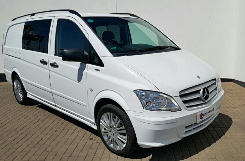 Used mercedes benz vito 122 cdi crewcab sport for sale in for Mercedes benz vito for sale
