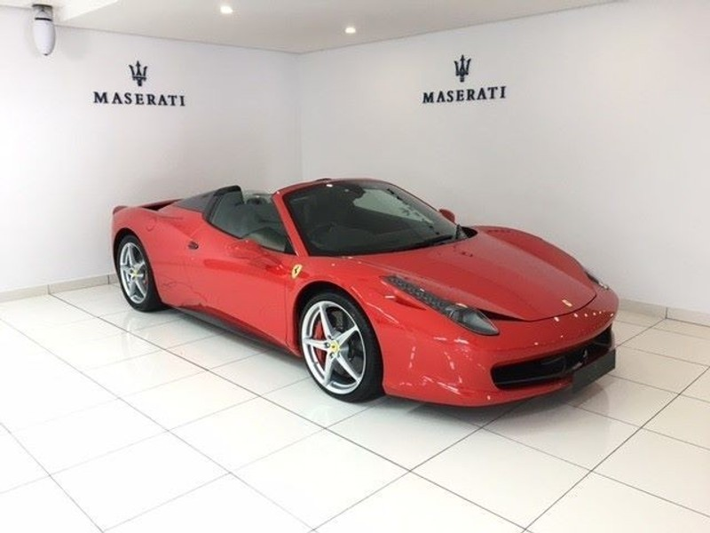used ferrari 458 italia spider 600km 2016 for sale in western cape. Cars Review. Best American Auto & Cars Review