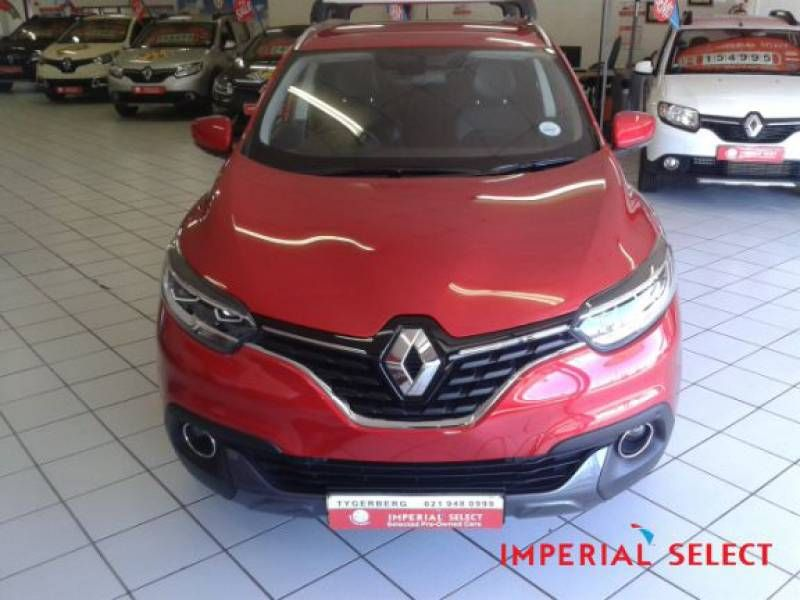 used renault kadjar 1 6 dci 4x4 for sale in western cape id 1649856. Black Bedroom Furniture Sets. Home Design Ideas