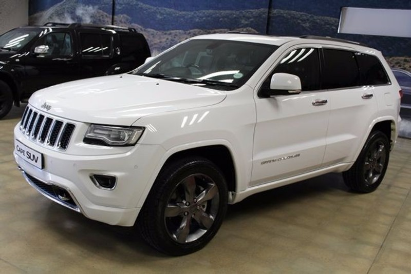 used jeep grand cherokee v6 crd overland for sale in western cape id 1651370. Black Bedroom Furniture Sets. Home Design Ideas