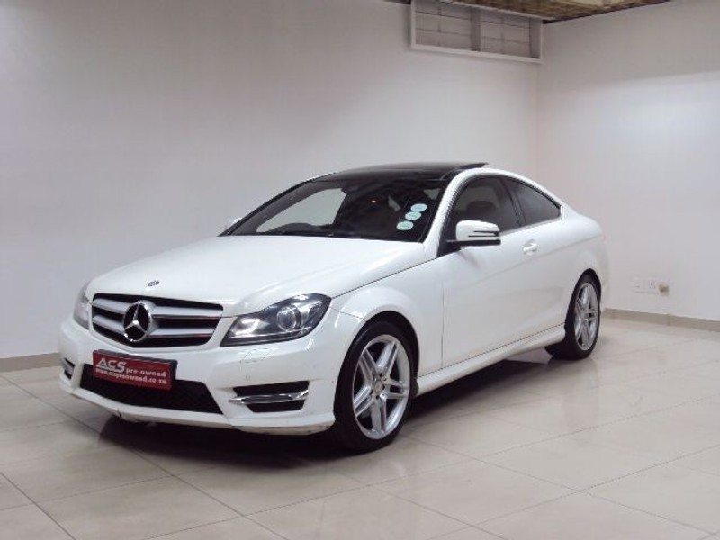 used mercedes benz c class c350 coupe amg 7g tronic panoramic roof amg for sale in gauteng. Black Bedroom Furniture Sets. Home Design Ideas