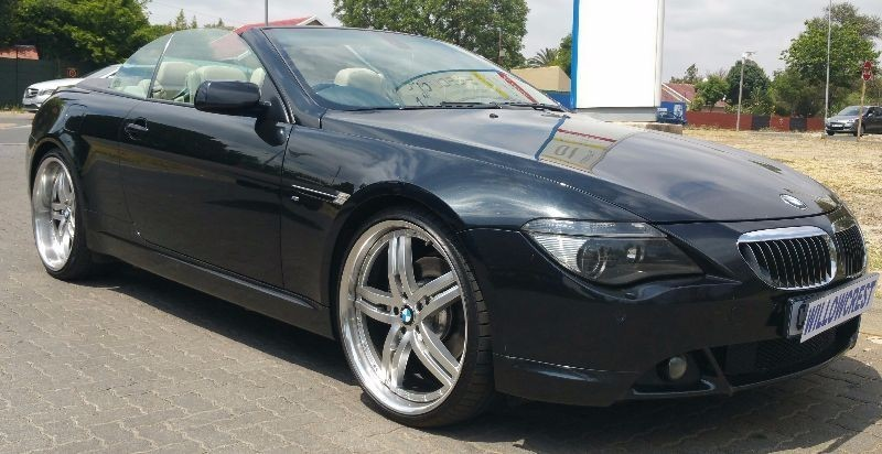 used bmw 6 series 650i convertible a t e64 for sale in gauteng id 1653484. Black Bedroom Furniture Sets. Home Design Ideas