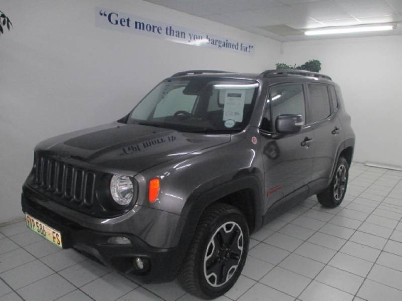 used jeep renegade 2 4 trailhawk auto for sale in free state id 1654314. Black Bedroom Furniture Sets. Home Design Ideas