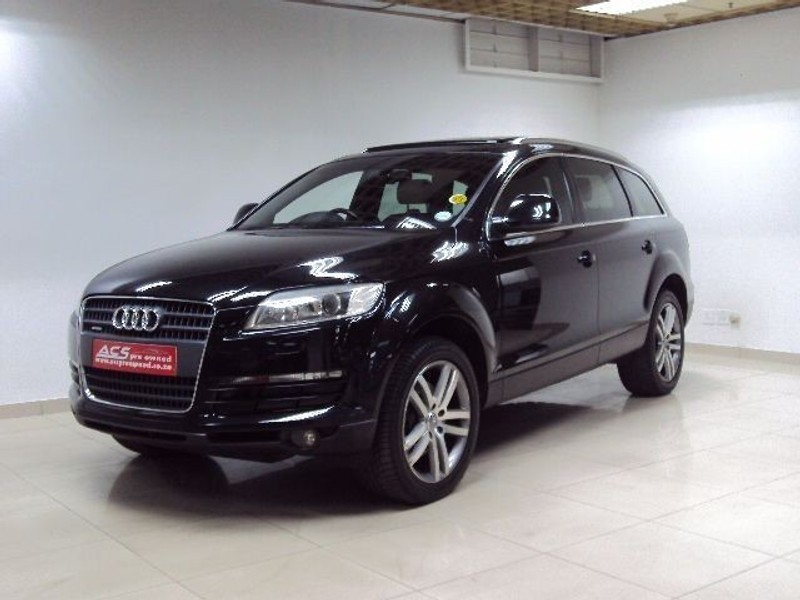 used audi q7 4 2 fsi v8 quattro auto 7 seater pan roof for sale in gauteng id 1661277. Black Bedroom Furniture Sets. Home Design Ideas
