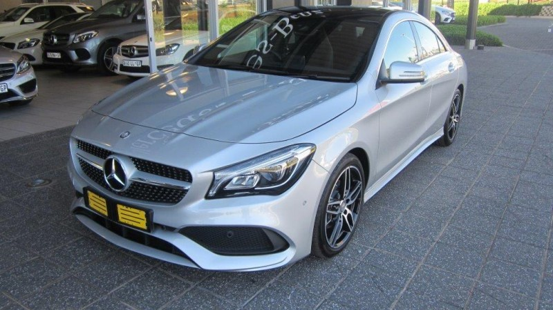 used mercedes benz cla class 200d amg auto for sale in gauteng id 1663326. Black Bedroom Furniture Sets. Home Design Ideas