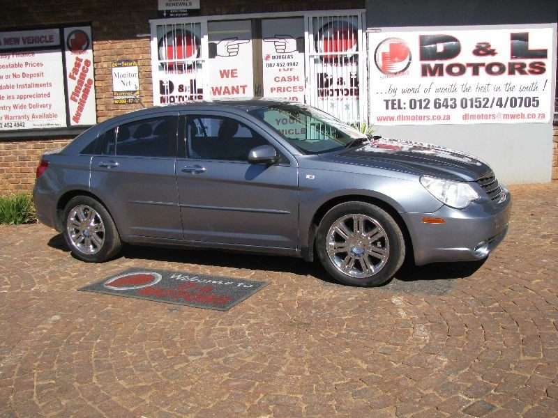 used chrysler sebring 2 4 limited a t for sale in gauteng. Black Bedroom Furniture Sets. Home Design Ideas