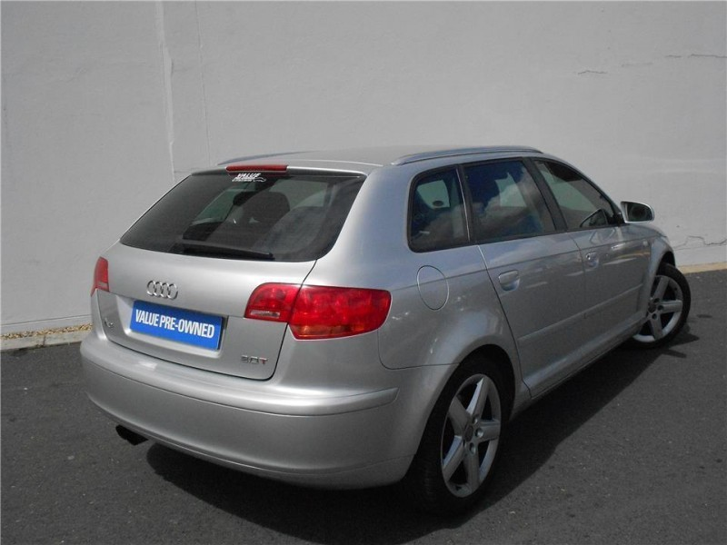 used audi a3 sportback fsi ambition for sale in western cape id 1667142. Black Bedroom Furniture Sets. Home Design Ideas
