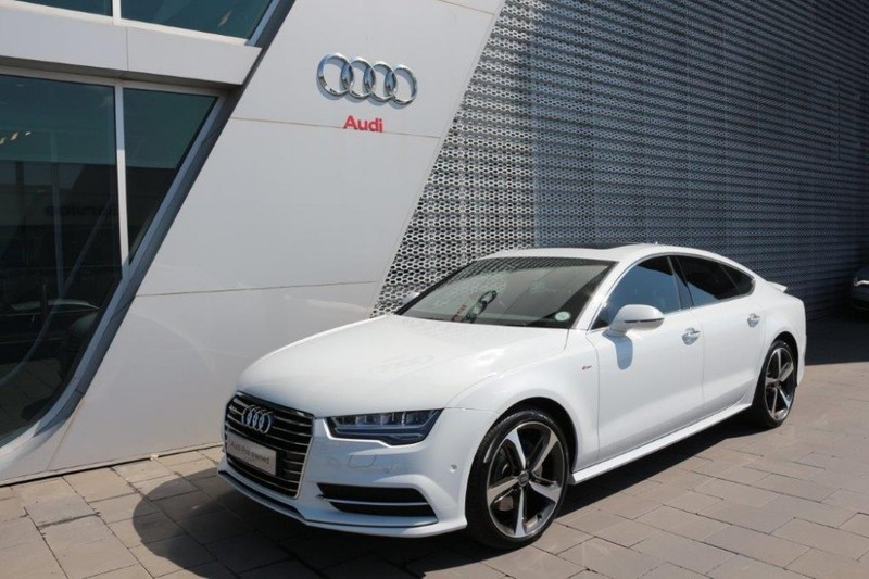 2016 audi a3 tdi sportback parked in front of a building. Black Bedroom Furniture Sets. Home Design Ideas