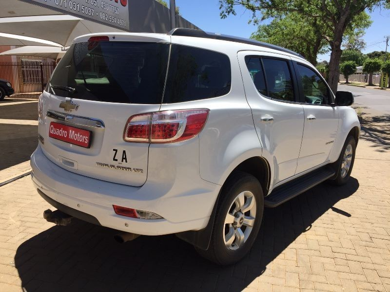 used chevrolet trailblazer 2 8 ltz 4x4 manual 2013 for sale in free state id 1675594. Black Bedroom Furniture Sets. Home Design Ideas