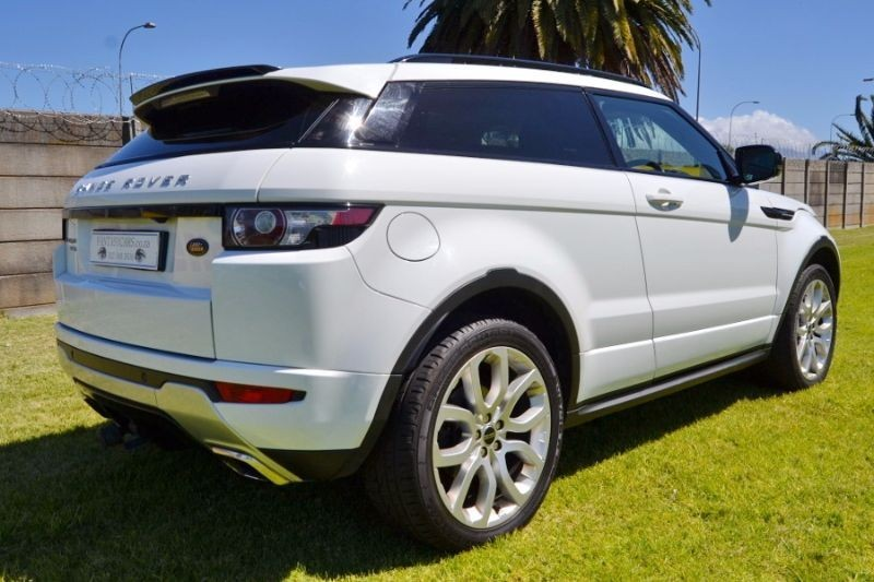used land rover evoque 2012 range rover evoque 2 2l sd4 dynamic for sale in western cape cars. Black Bedroom Furniture Sets. Home Design Ideas