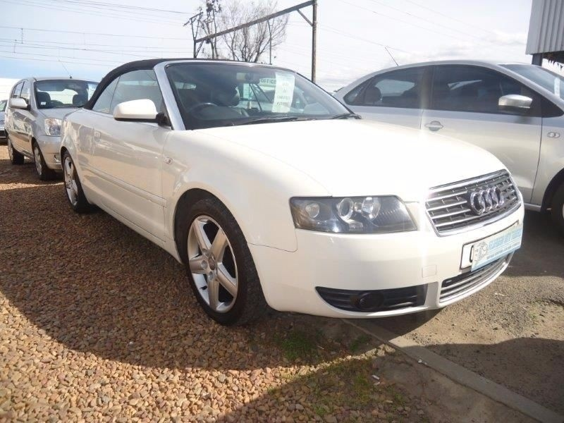used audi a4 3 0 cab multitronic for sale in western cape. Black Bedroom Furniture Sets. Home Design Ideas