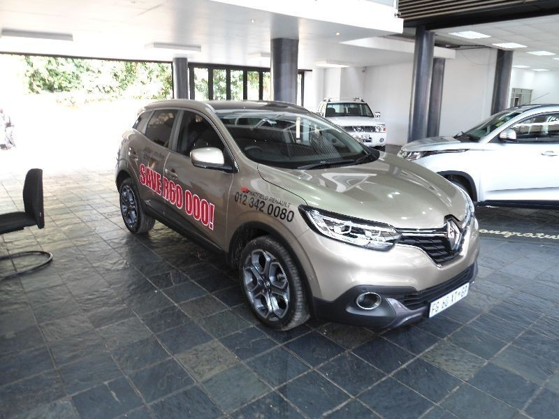 used renault kadjar 1 6 dci 4x4 for sale in gauteng cars. Black Bedroom Furniture Sets. Home Design Ideas