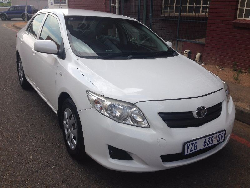 used toyota corolla 1 6 professional for sale in gauteng id 1678778. Black Bedroom Furniture Sets. Home Design Ideas