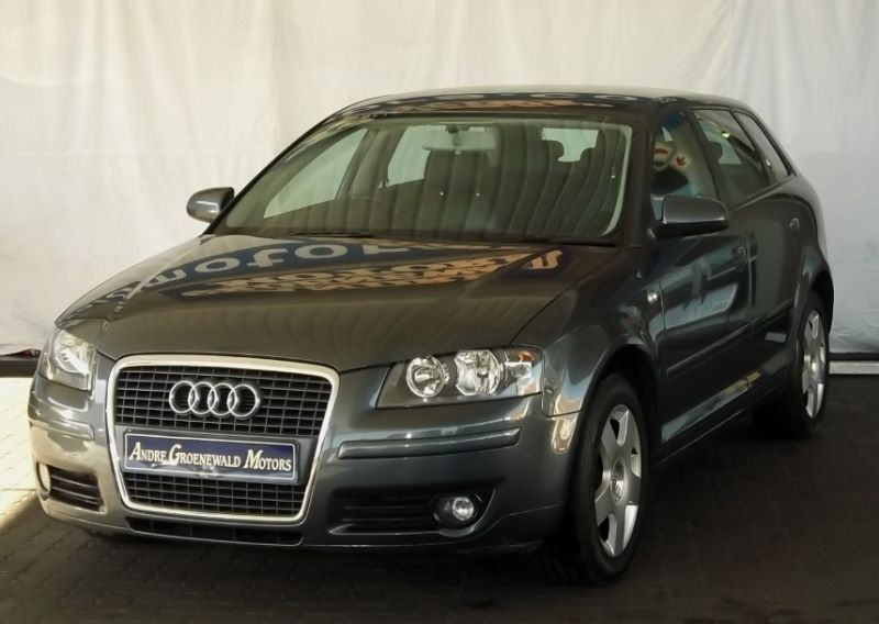 used audi a3 sportback 2 0 fsi ambition for sale in western cape id 1680429. Black Bedroom Furniture Sets. Home Design Ideas