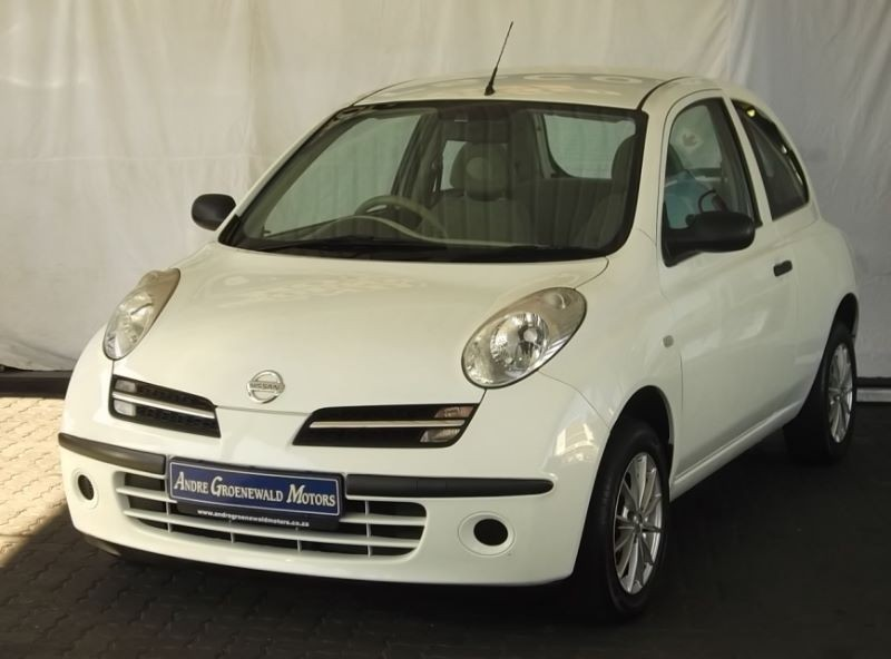 used nissan micra 1 4 visia 3dr d71 for sale in western cape id 1680501. Black Bedroom Furniture Sets. Home Design Ideas