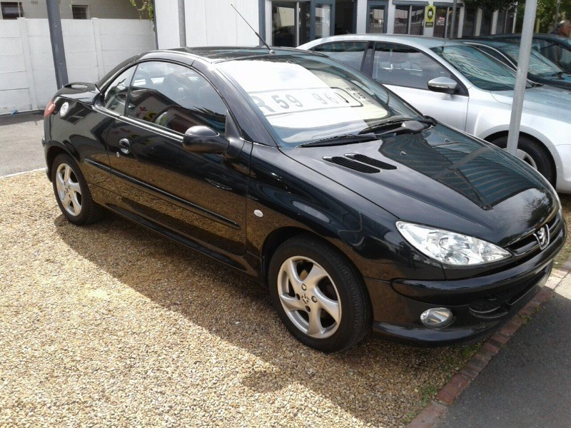 Used peugeot 206 1 6 coupe cabriolet for sale in western cape id 1681192 - Peugeot 206 coupe cabriolet review ...