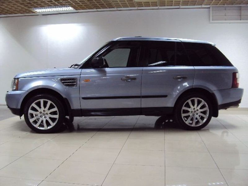 used land rover range rover sport supercharged 4 2 v8 auto fsh for sale in gauteng. Black Bedroom Furniture Sets. Home Design Ideas