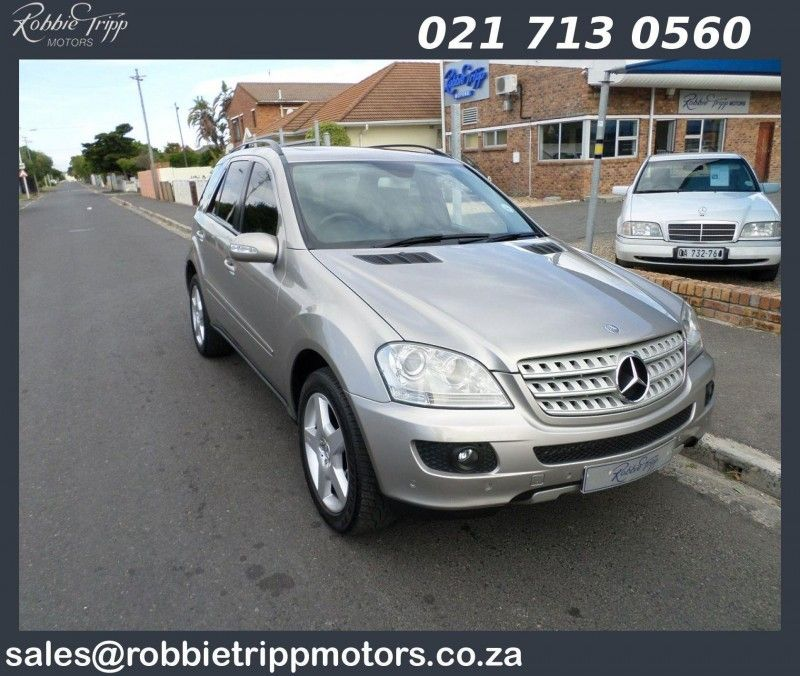 used mercedes benz m class ml 320 cdi a t for sale in western cape id 1684167. Black Bedroom Furniture Sets. Home Design Ideas