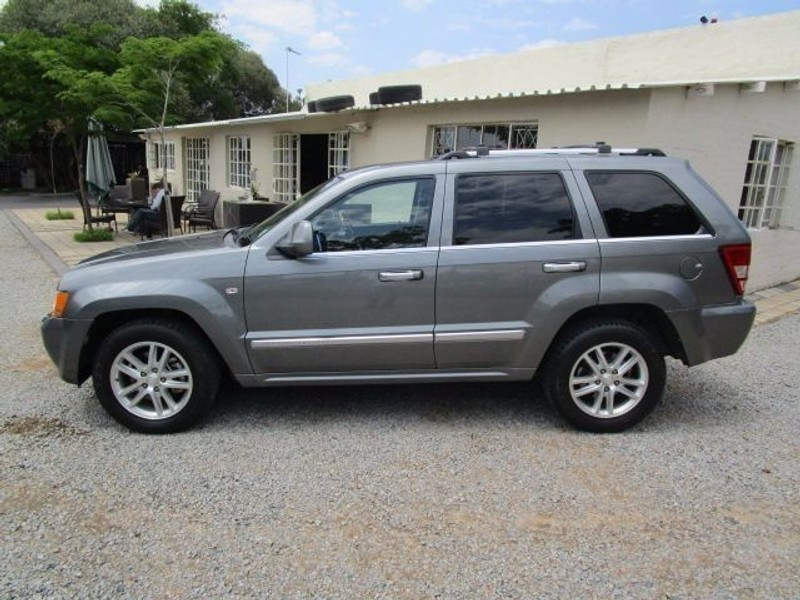 used jeep grand cherokee v6 crd overland incl on the road for sale in gauteng. Black Bedroom Furniture Sets. Home Design Ideas