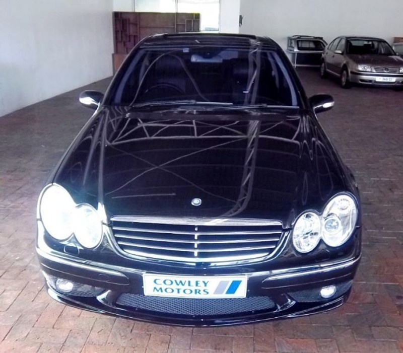Used mercedes benz c class c55 amg a t for sale in western for 2005 mercedes benz c55 amg for sale