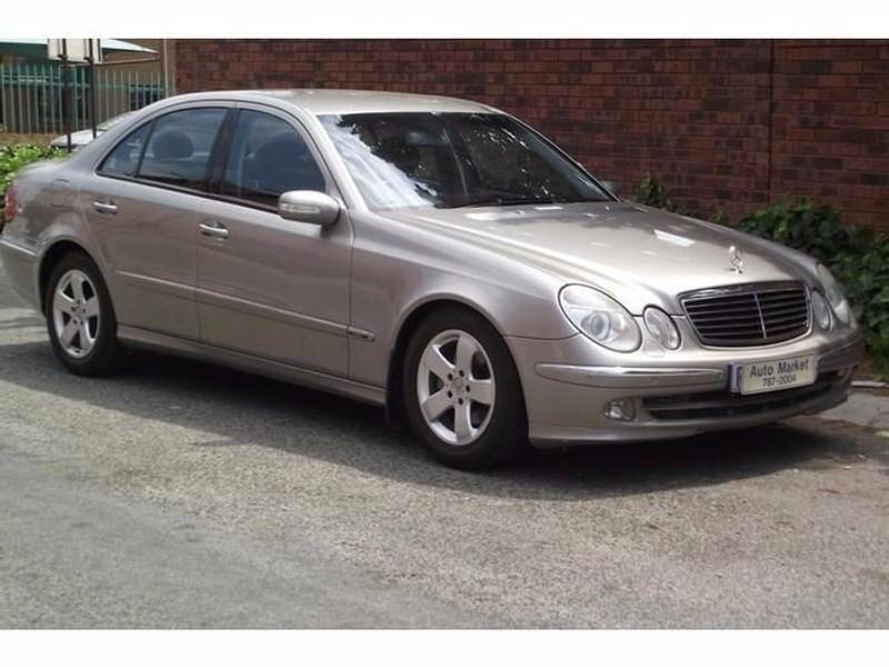 Used mercedes benz e class e 240 avantgarde i year for Mercedes benz car warranty