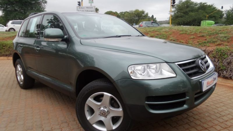 used volkswagen touareg r5 2 5 tdi for sale in gauteng id 1695401. Black Bedroom Furniture Sets. Home Design Ideas