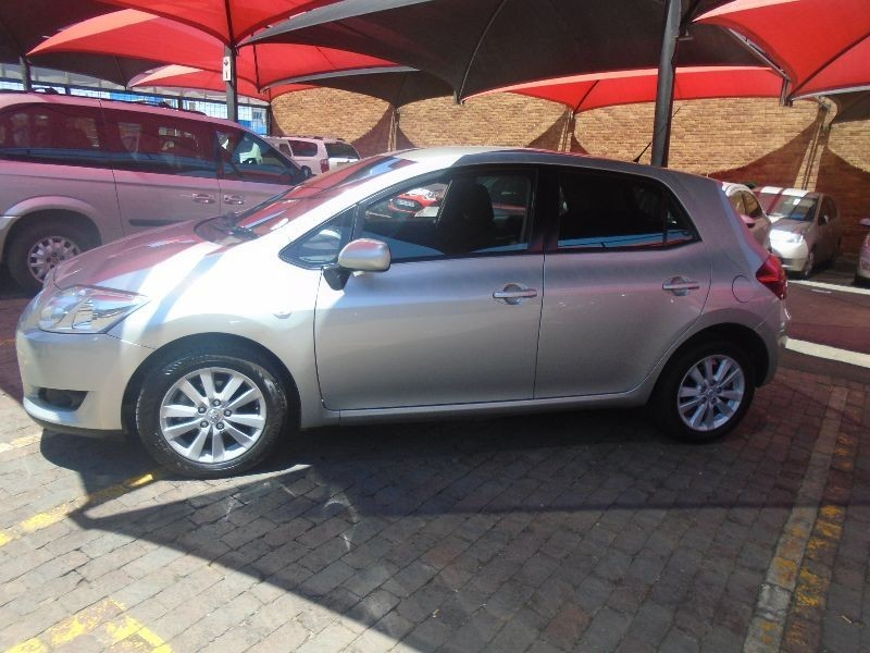 used toyota auris 160 rs a t for sale in gauteng id 1696646. Black Bedroom Furniture Sets. Home Design Ideas