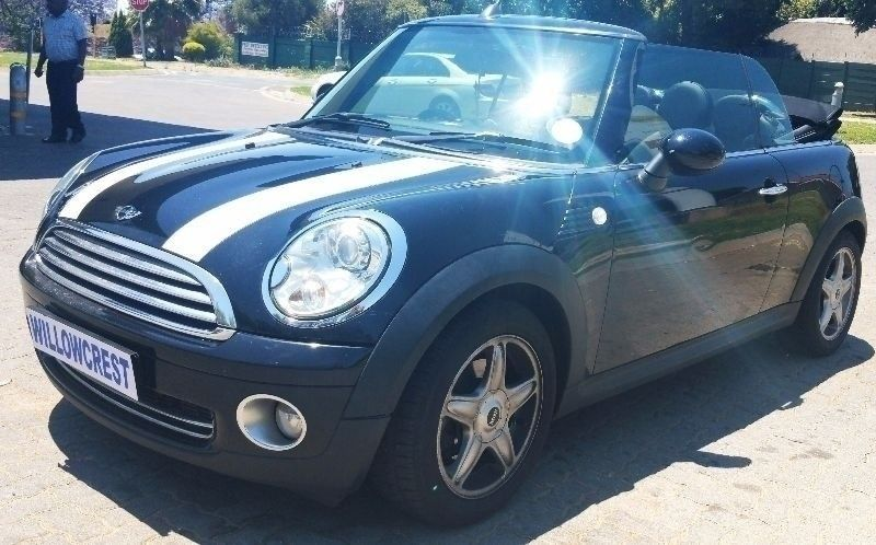 used mini cooper convertible for sale in gauteng id 1696699. Black Bedroom Furniture Sets. Home Design Ideas