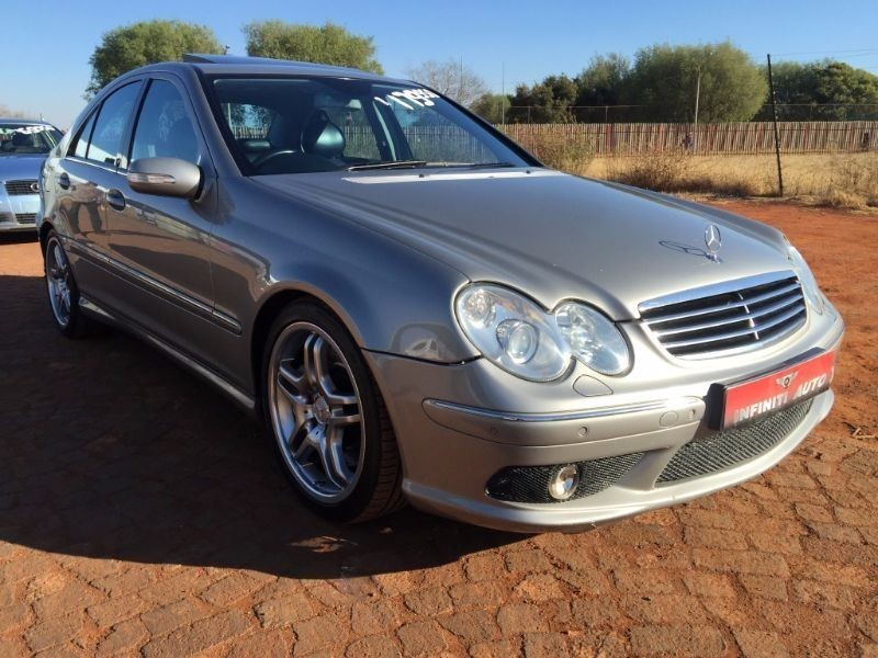 Used mercedes benz c class c55 amg auto for sale in for 2005 mercedes benz c55 amg for sale