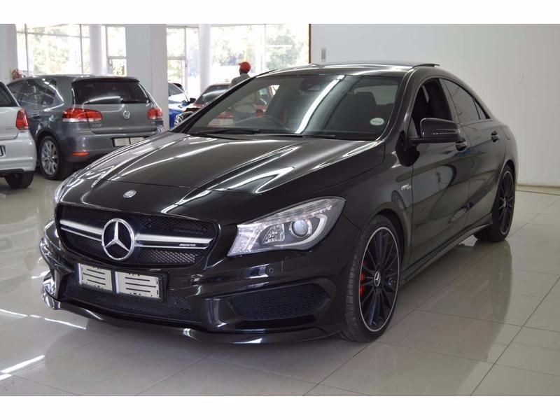 used mercedes benz cla class cla45 amg for sale in gauteng id 1701368. Black Bedroom Furniture Sets. Home Design Ideas