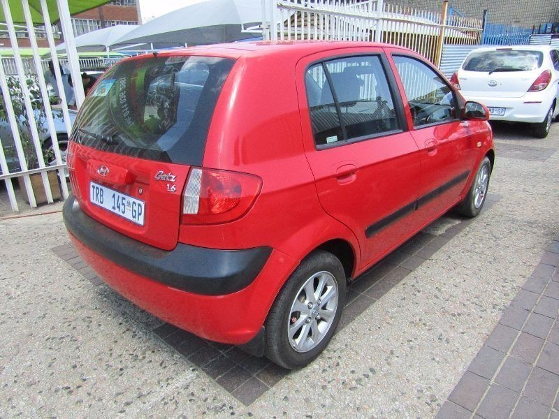 used hyundai getz 1 6 hs a t for sale in gauteng. Black Bedroom Furniture Sets. Home Design Ideas