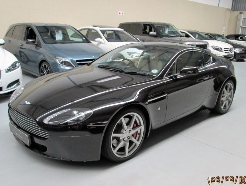 used aston martin vantage coupe for sale in western cape id 1707779. Black Bedroom Furniture Sets. Home Design Ideas