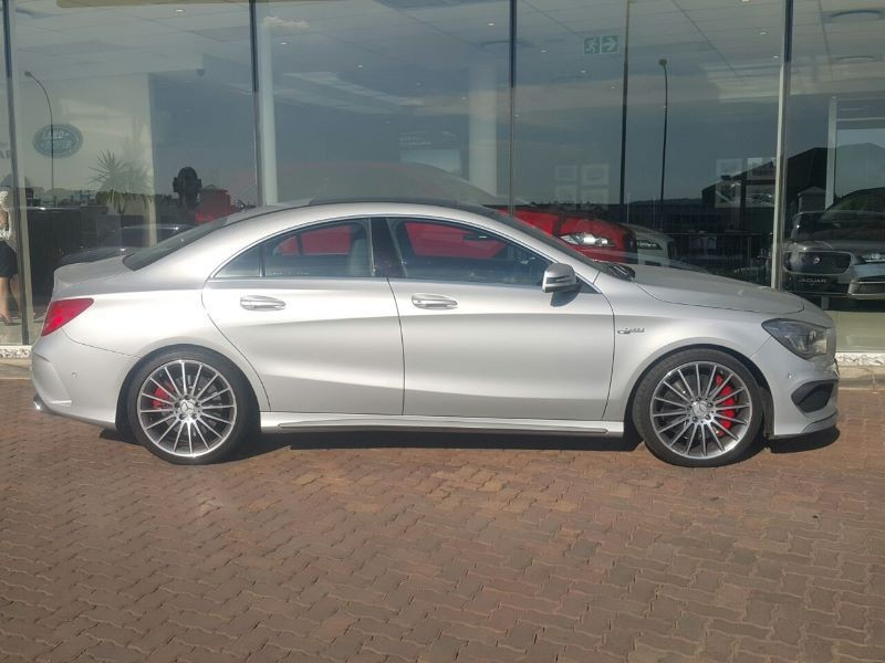 used mercedes benz cla class cla45 amg for sale in gauteng id 1709344. Black Bedroom Furniture Sets. Home Design Ideas