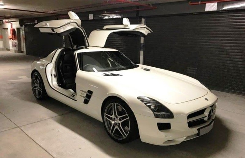 Used mercedes benz sls class sls amg coupe call ken 071 for Mercedes benz sls amg for sale