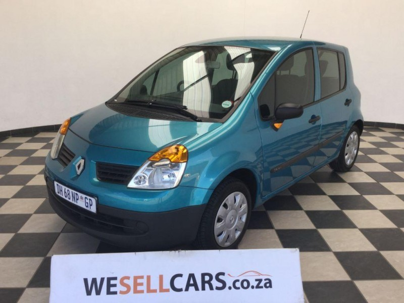 used renault modus 1 4 expression for sale in gauteng id 1713842. Black Bedroom Furniture Sets. Home Design Ideas