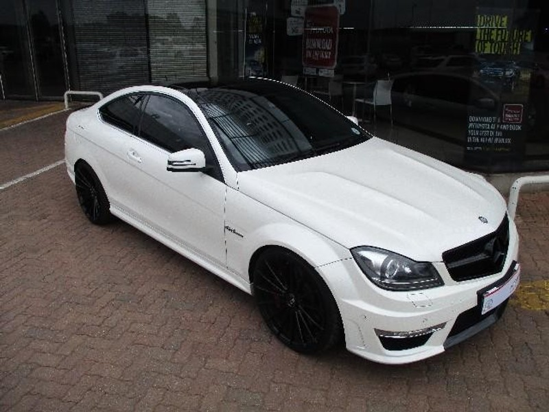 used mercedes benz c class c63 amg coupe for sale in gauteng id 1714328. Black Bedroom Furniture Sets. Home Design Ideas