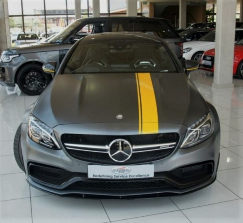 Used mercedes benz c class 2016 m benz c63s amg edition 1 for Mercedes benz c63s