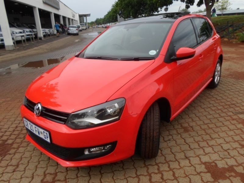 used volkswagen polo 1 4 comfortline 5dr with panoramic. Black Bedroom Furniture Sets. Home Design Ideas